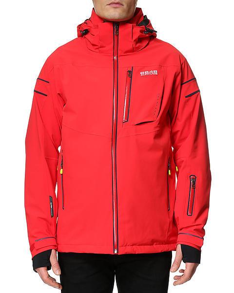 Горнолыжная куртка 8848 ALTITUDE «SWITCH 2» красная - 2