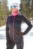 Nordski Motion Premium разминочный лыжный костюм женский BlueBerry-Pink - 2
