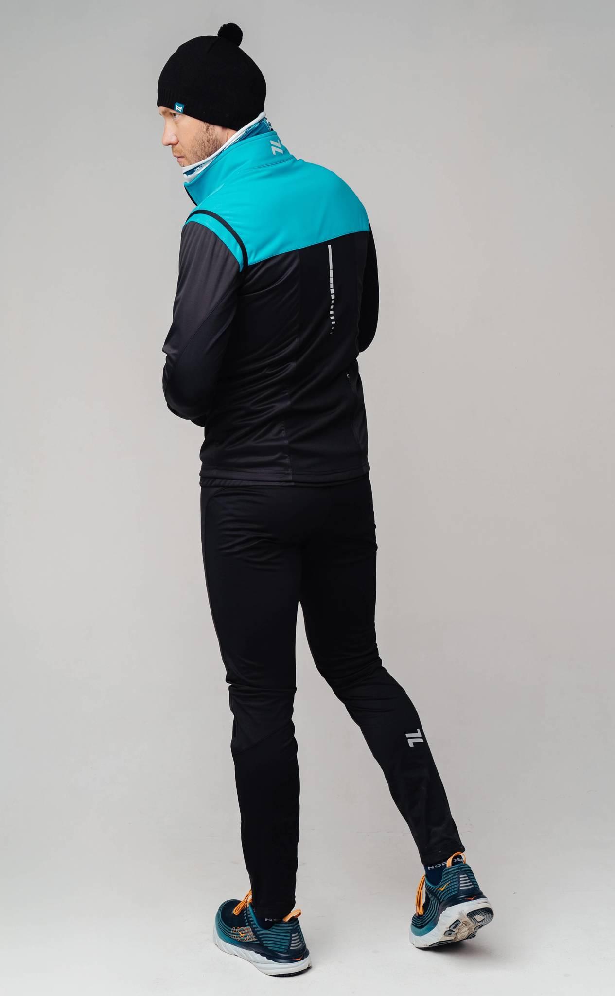 Nordski Pro лыжный костюм мужской breeze-black - 2