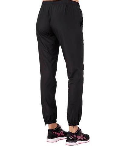 Asics Silver Woven Pant женские спортивные брюки черные