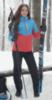 Nordski Montana утепленный лыжный костюм женский blue-red - 1