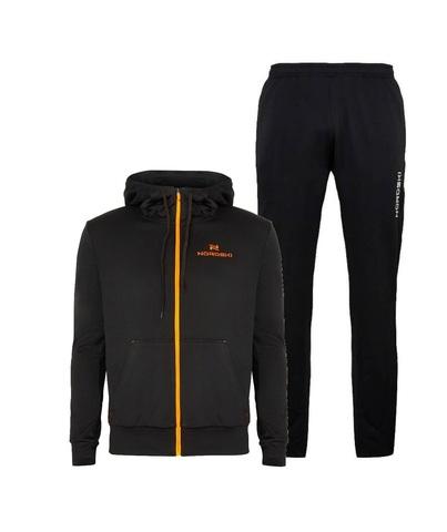 Nordski Hood Base спортивный костюм мужской black-orange