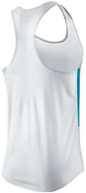 Майка л/а Nike Distance Singlet белая - 2