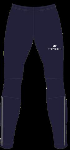 Nordski Jr Motion  тренировочные лыжные брюки детские blueberry
