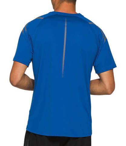 Asics Icon Ss футболка для бега мужская синяя