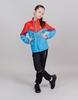 Nordski Jr Sport костюм для бега детский red-blue - 1