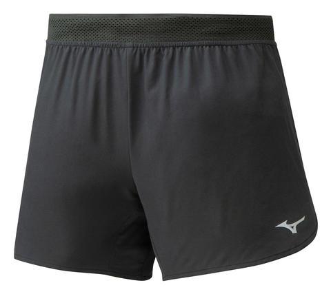Mizuno ER 4.5 2in1 Short шорты для бега женские черные