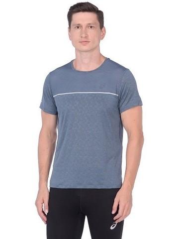 Asics Gel Cool Ss Top футболка для бега мужская серая