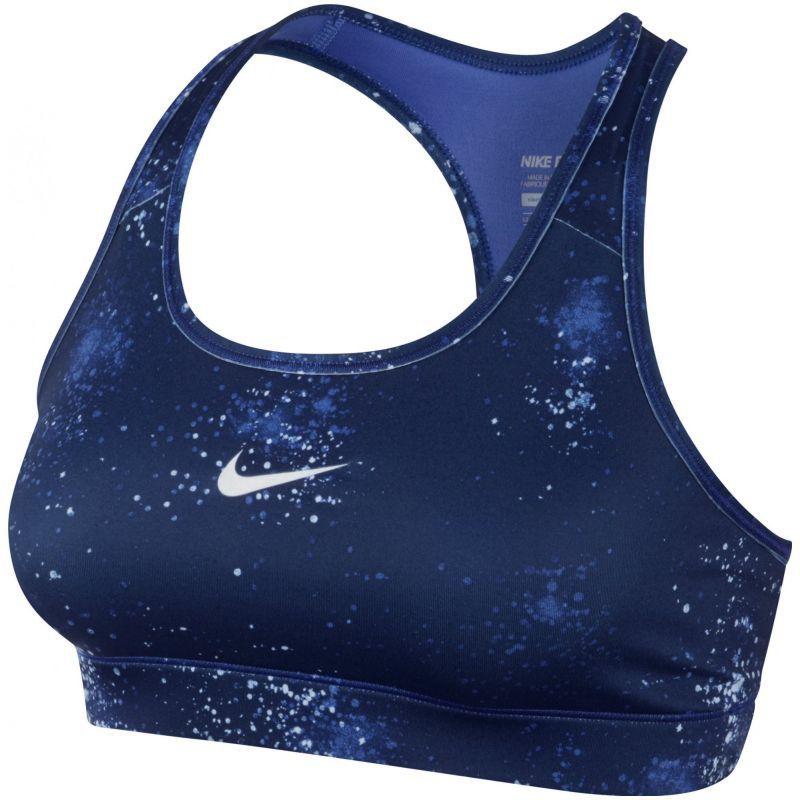 Топ л/а Nike Pro Bra Printed (W) синий