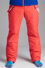 Nordski Premium теплые брюки мужские красные