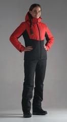 Nordski Montana прогулочный костюм женский красный-черный