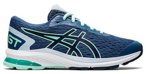 Asics Gt 1000 9 Gs кроссовки для бега подростковые темно-синие
