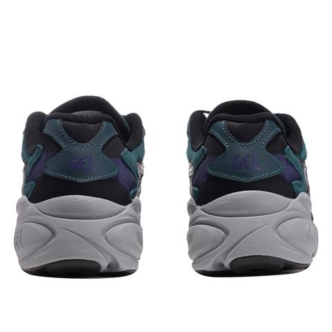 Asics Gel Bnd кроссовки прогулочные мужские черные-бирюзовые (Распродажа)