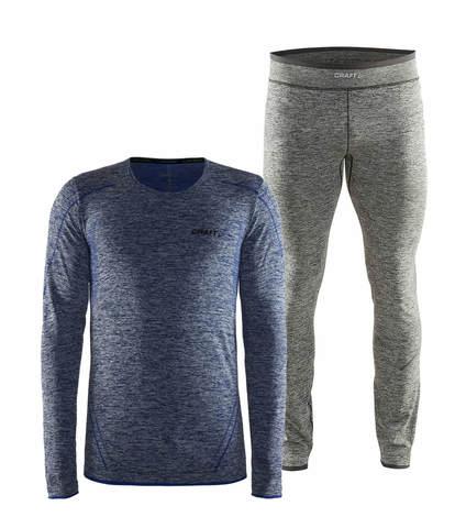 Craft Active Comfort комплект термобелья мужской dark blue-black