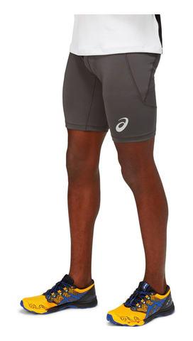 Asics Fujitrail Sprinter тайтсы для бега мужские серые