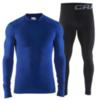 Комплект термобелья Craft Warm Intensity мужской синий - 1