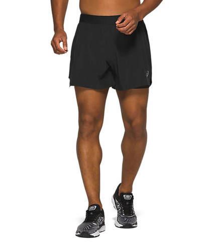 """Asics 2 In 1 5"""" Short шорты для бега мужские черные"""