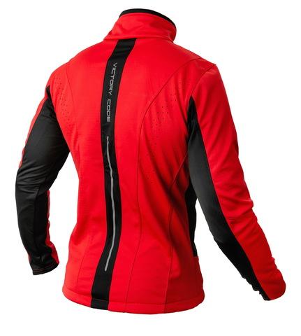 Victory Code Speed Up A2 разминочная лыжная куртка red