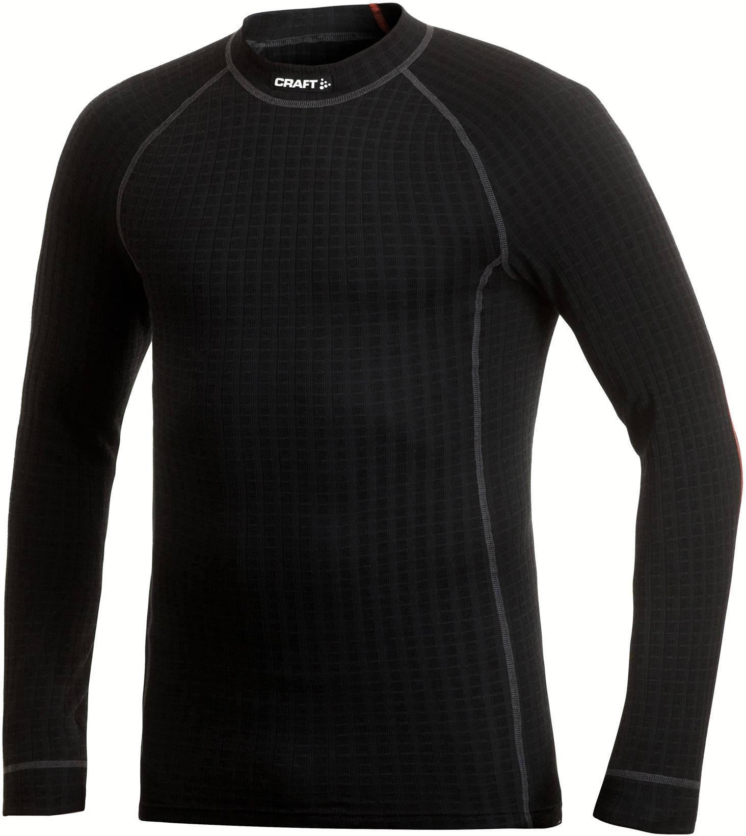 Термобелье Рубашка Craft Warm Wool мужское черн
