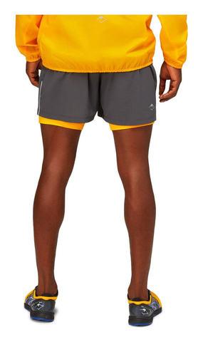 Asics Fujitrail Short шорты для бега мужские серые