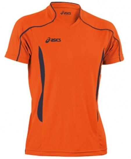 Волейбольная футболка Asics T-shirt Volo мужская оранжевая - 3