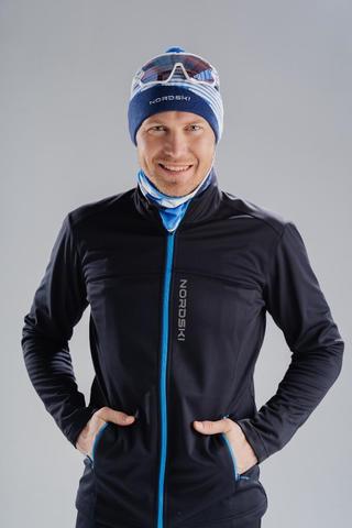 Nordski Active лыжная куртка мужская черная