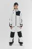 Cool Zone OVER комбинезон женский сноубордический белый-черный - 1