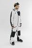 Cool Zone OVER комбинезон женский сноубордический белый-черный - 2