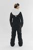Cool Zone OVER комбинезон женский сноубордический белый-черный - 4