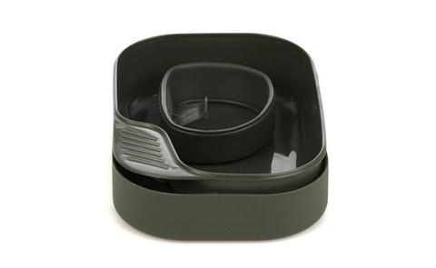 Wildo Camp-A-Box Basic набор туристической посуды olive