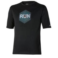 Беговая футболка мужская Asics Graphic SS