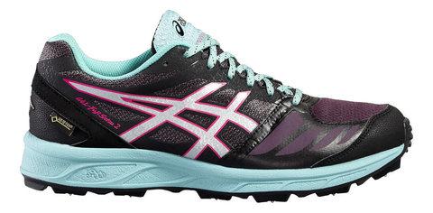 Asics Gel Fuji Setsu 2 G-tx кроссовки для бега женские черные-голубые