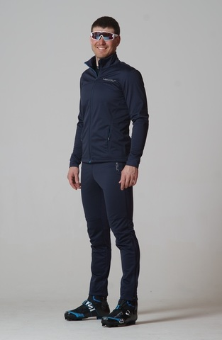 Nordski Motion мужской лыжный костюм blueberry