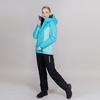 Утепленный лыжный костюм женский Nordski Base aquamarine-sky - 1