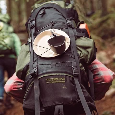 Wildo Kasa Army туристическая кружка-миска pink