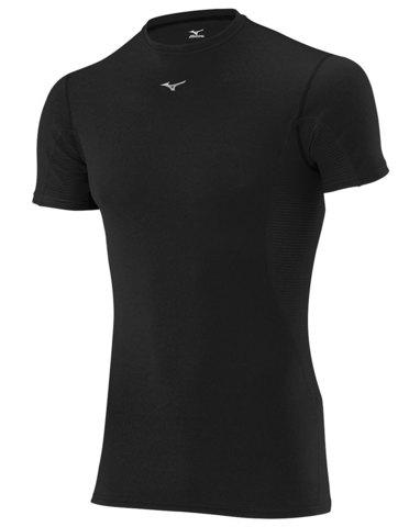 Mizuno Middleweight Tee термобелье футболка мужское черное