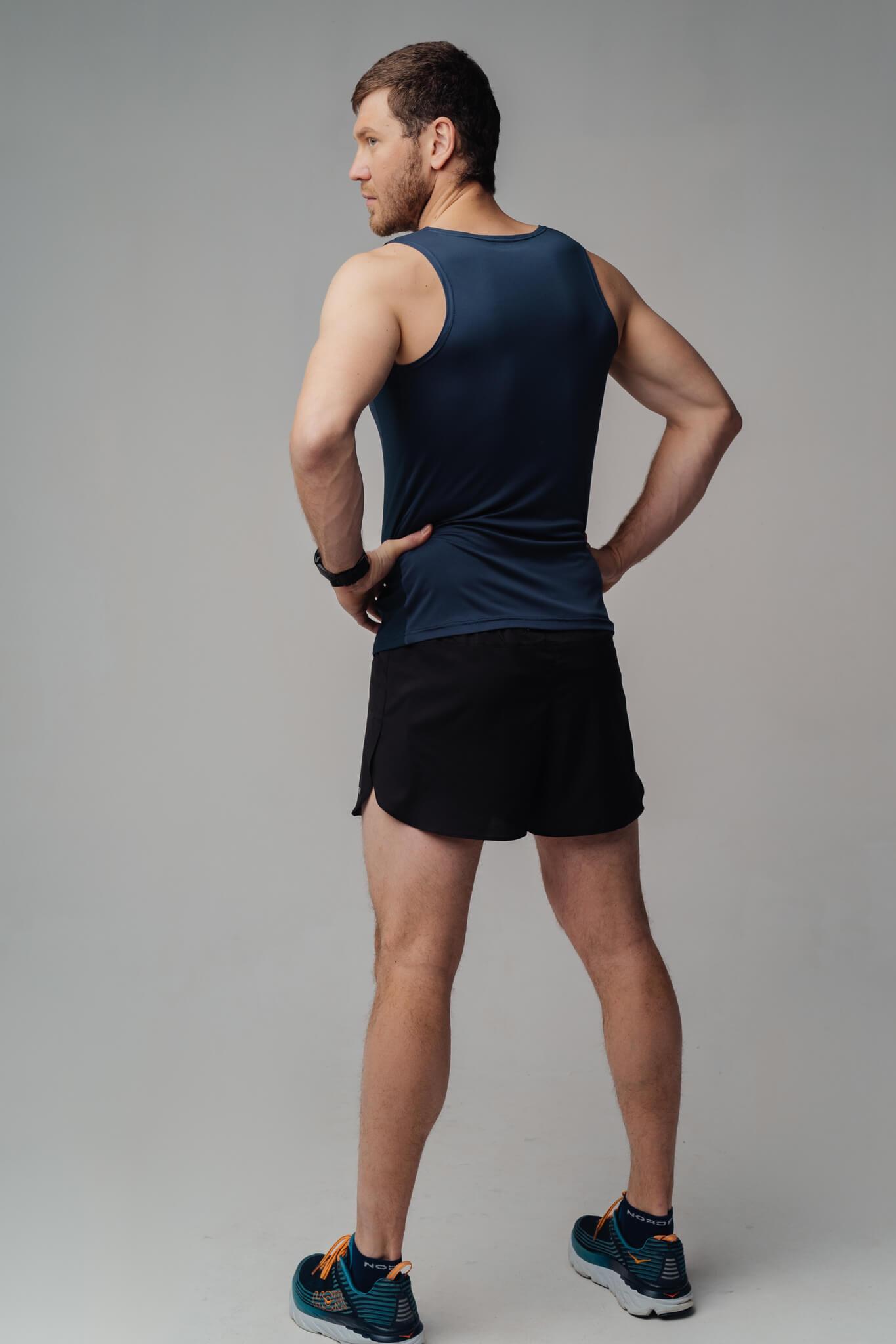 Nordski Run майка беговая мужская blueberry - 2