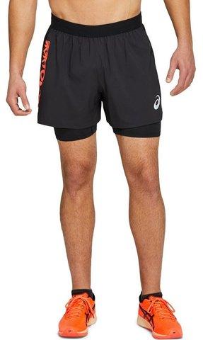 Asics Future Tokyo Short шорты для бега мужские черные
