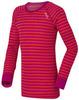 Odlo Warm детское термобелье футболка с длинным рукавом pink-orrange - 1
