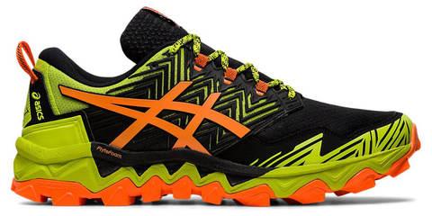 Asics Gel Fujitrabuco 8 кроссовки внедорожники мужские черные-оранжевые