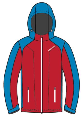 Nordski Kids National утепленная лыжная куртка детская red