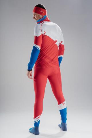 Nordski Premium RUS лыжный гоночный комбинезон red
