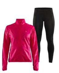 Craft Eaze женский костюм для бега черный-розовый