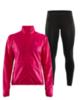 Craft Eaze женский костюм для бега черный-розовый - 1