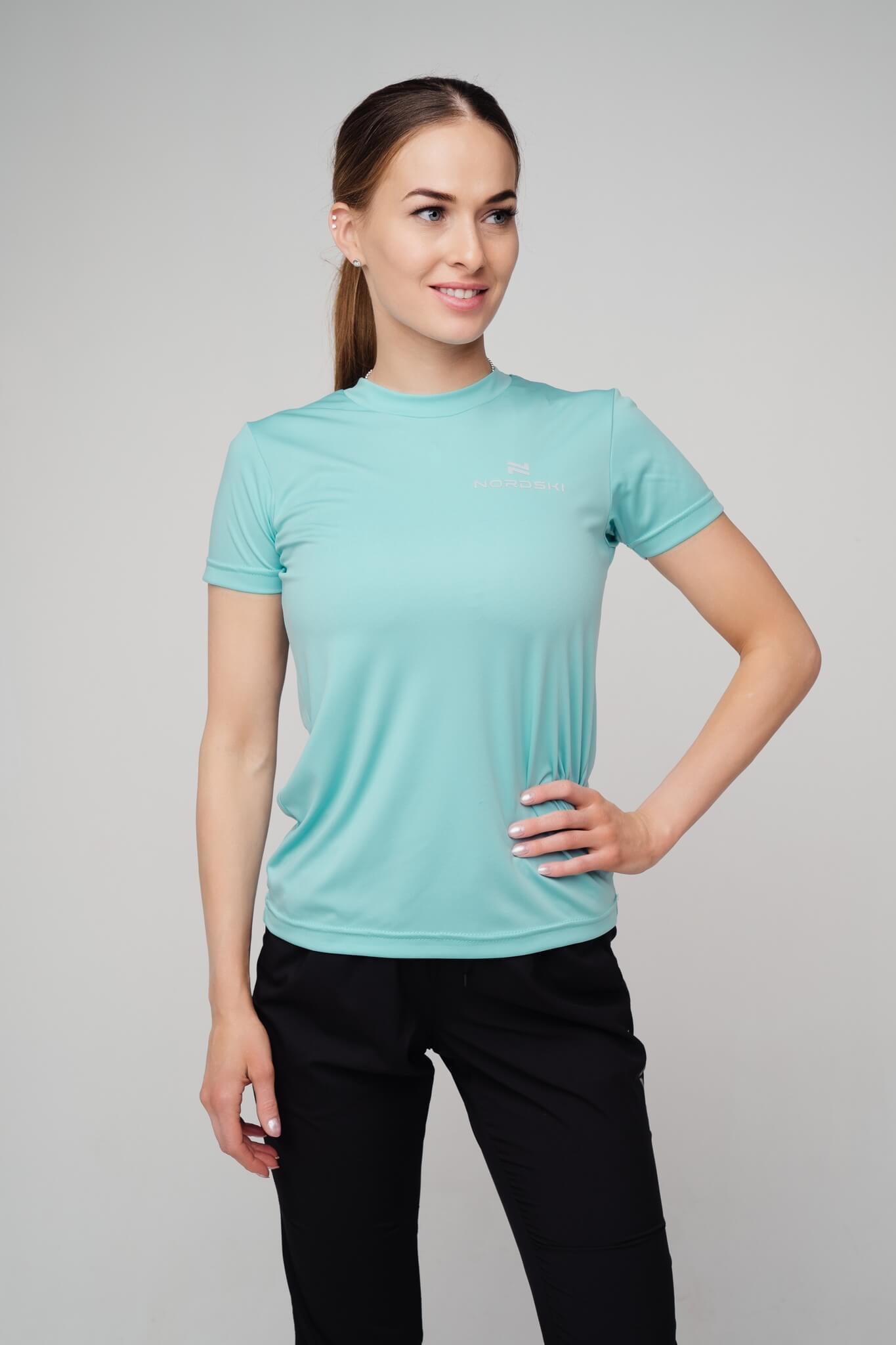 Nordski Active футболка женская aquamarine