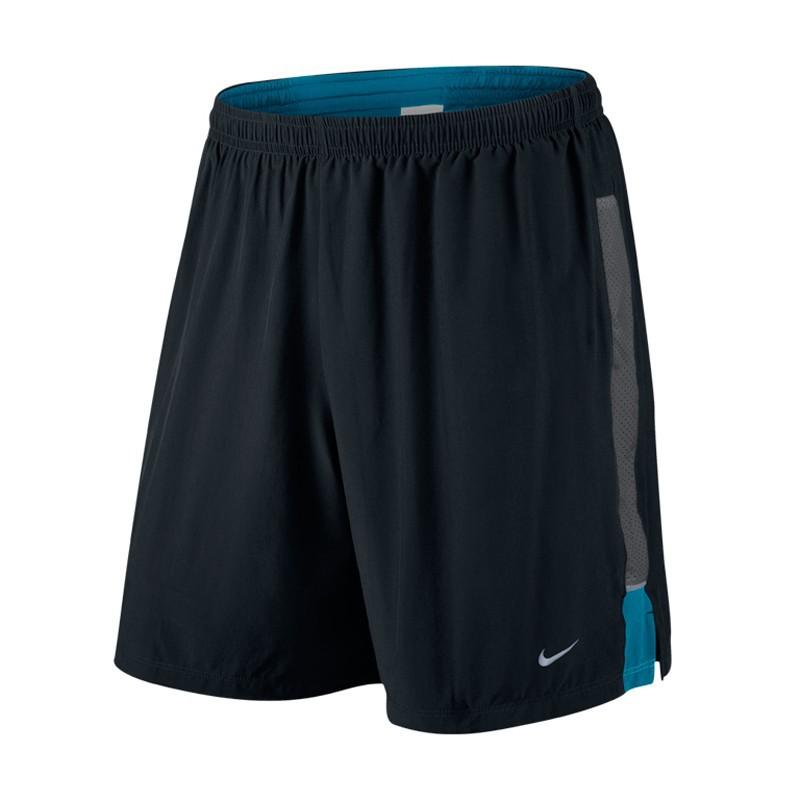 "Шорты л/а Nike 7"" SW 2-in-1 Short чёрные"