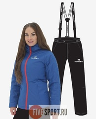 Nordski Patriot Premium утепленный костюм женский blue-black