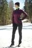 Nordski Jr Motion детский лыжный костюм purple - 1