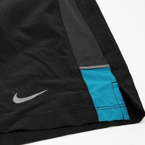 "Шорты л/а Nike 7"" SW 2-in-1 Short чёрные - 8"