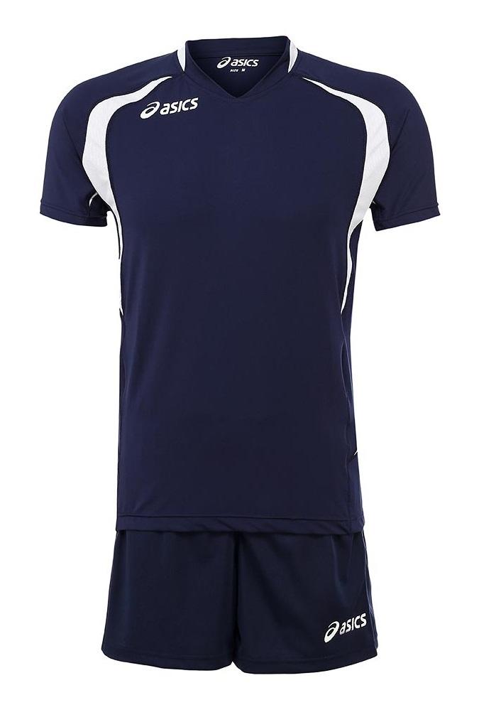 Волейбольная форма Asics Set Tiger Man темно-синяя - 4